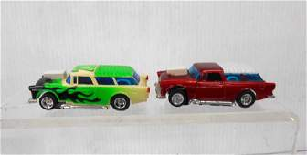 Tyco AFX 55 Chevy Nomad Slot Cars