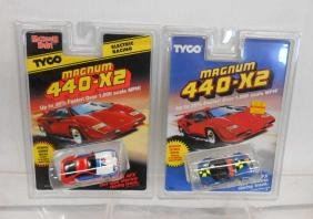 Tyco Magnum 440-X2 Mazda & Nissan Slot Cars