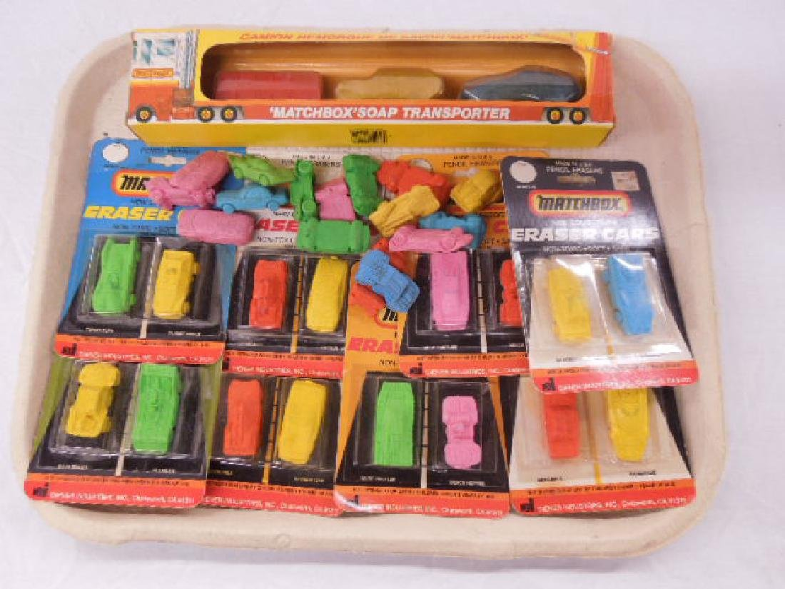 Matchbox Eraser Cars & Soap