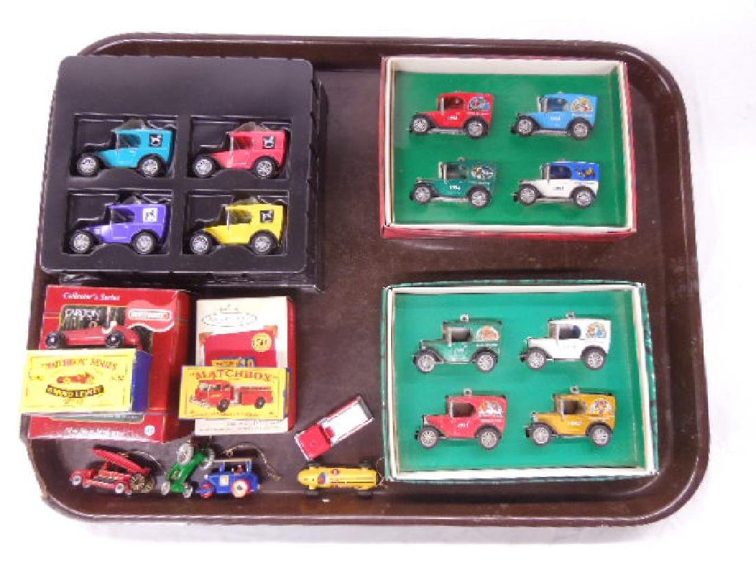 1990's Matchbox Car Christmas Ornaments
