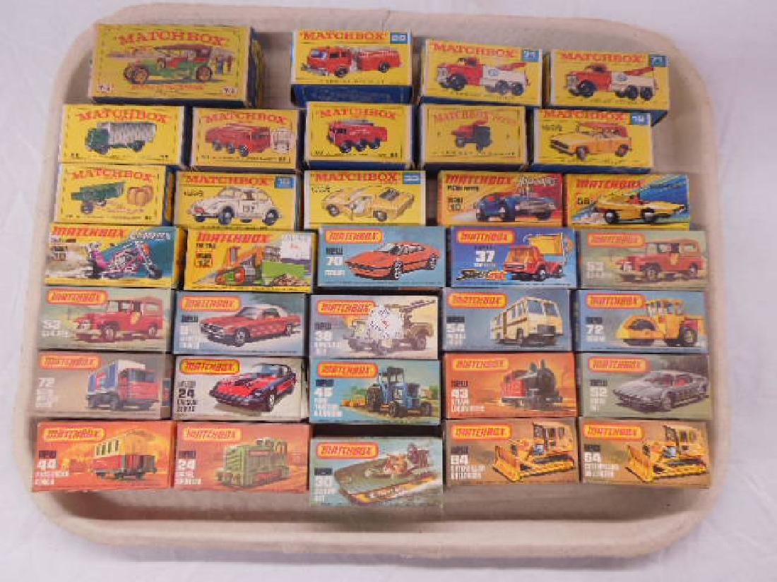 1960's & 1970's Matchbox Empty Boxes