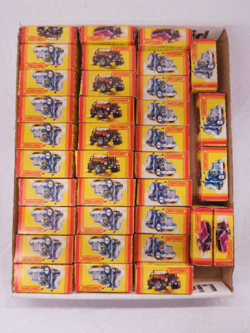 Matchbox Car & Vehicle Empty Boxes