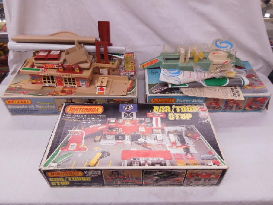 1981 & 1982 Matchbox Playsets