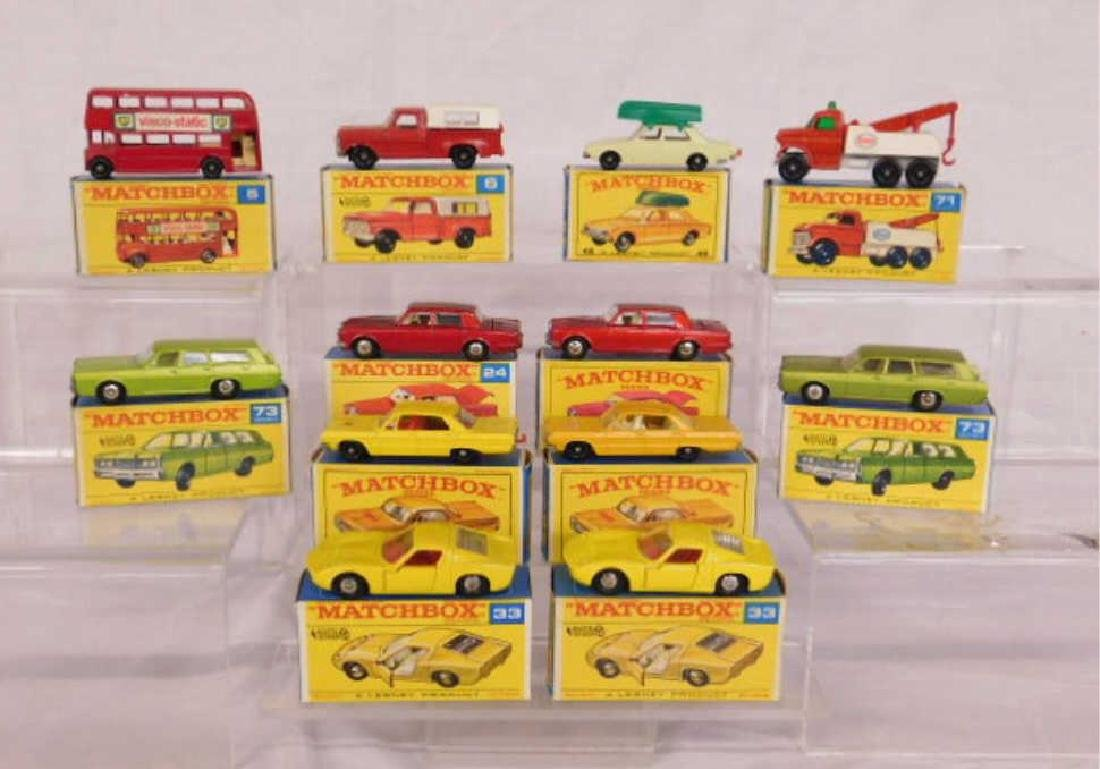 1960's Matchbox Cars & Vehicles