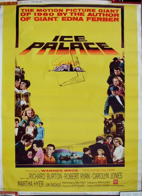 "1001: 1960 ""Ice Palace"" Movie Poster"