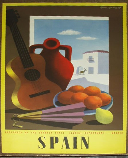 1017: 1950's Travel Poster