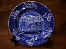 Historical Blue Transfer Ware Plate