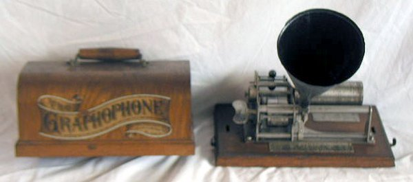 2015: Columbia Eagle Type B Cylinder Phonograph