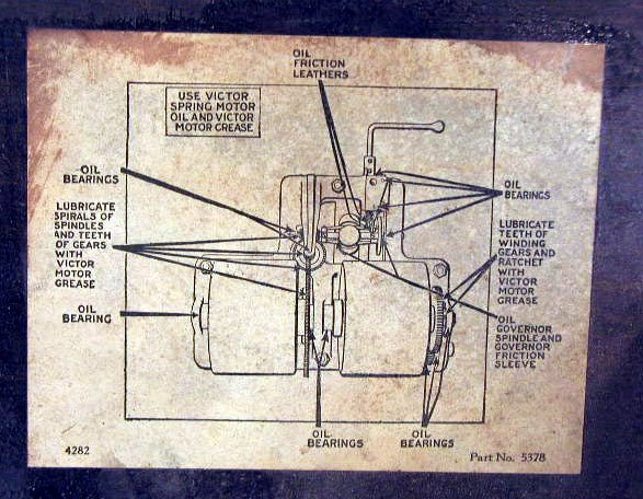 2110: 1920-30's Victor Phonograph Parts - 4