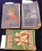 3 Vintage Boy Scout Handbooks