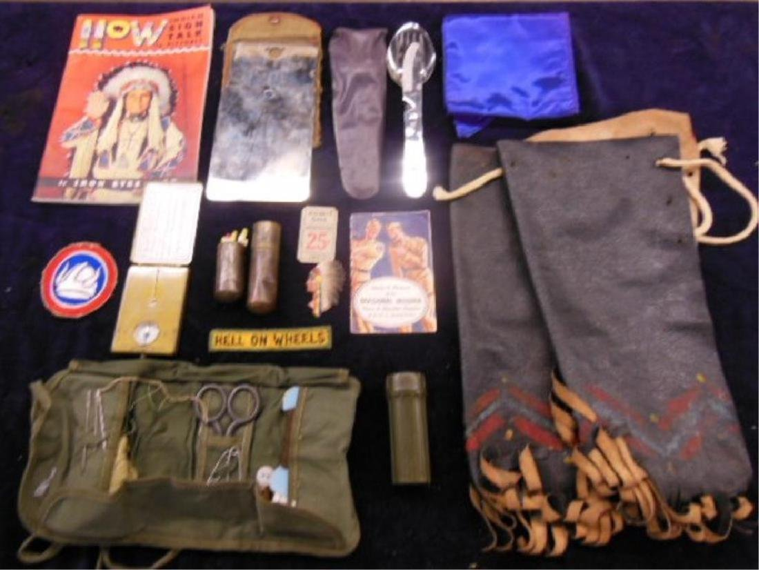 Assorted Scout Type Camping & other Items