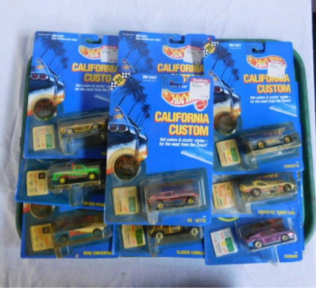 Hot Wheels California Custom Vehicles