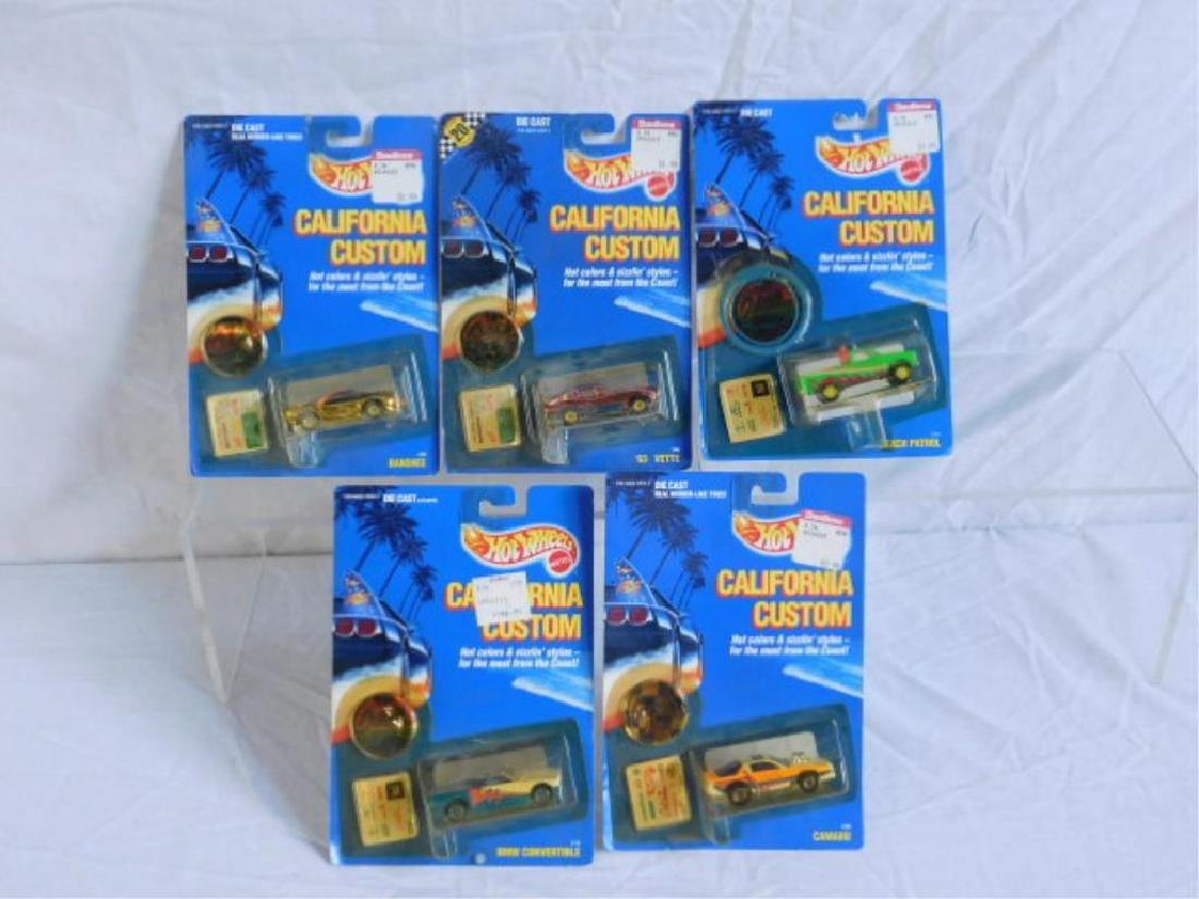Hot Wheels California Custom Vehicles - 2