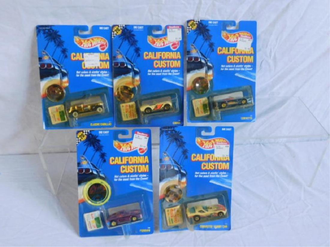 Hot Wheels California Custom Vehicles - 3