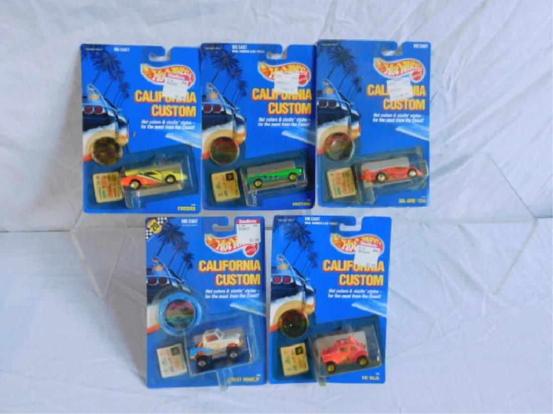 Hot Wheels California Custom Vehicles - 4