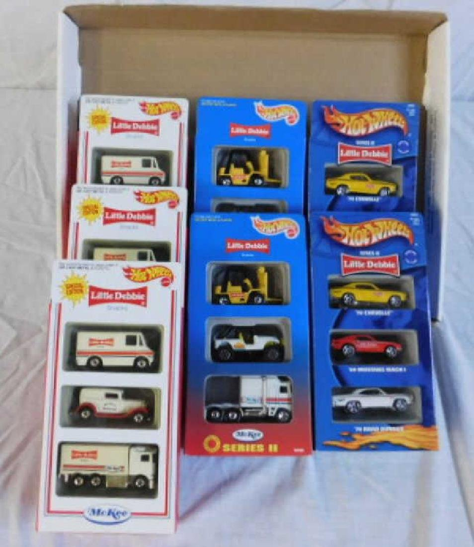 Hot Wheels Little Debbie 3 Packs