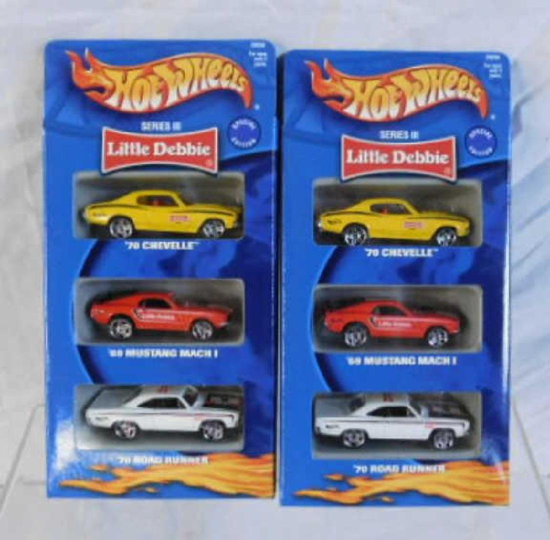 Hot Wheels Little Debbie 3 Packs - 4