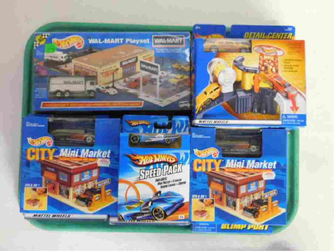 Hot Wheels Playsets with Cars
