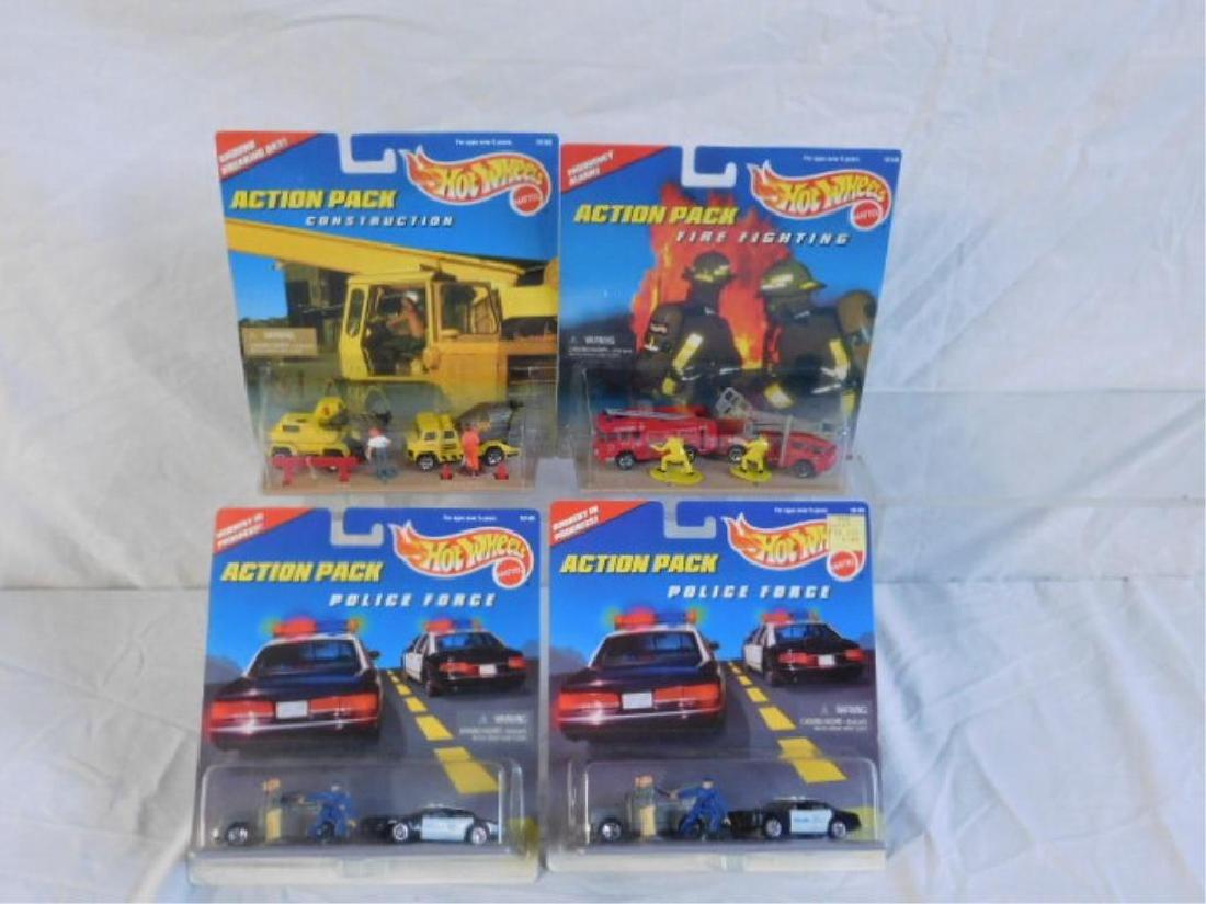 Hot Wheels Action Pack Sets - 2