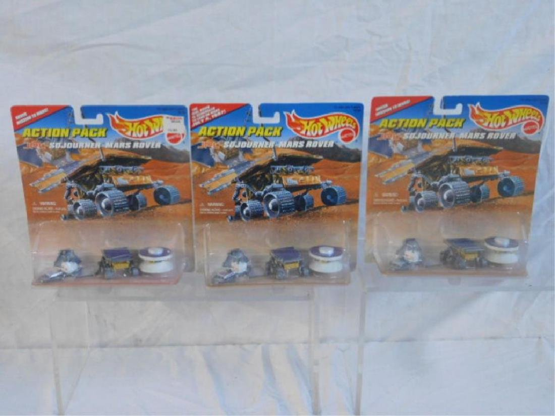 Hot Wheels Action Pack Sets - 3