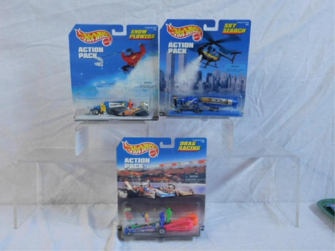 Hot Wheels Action Pack Sets - 2