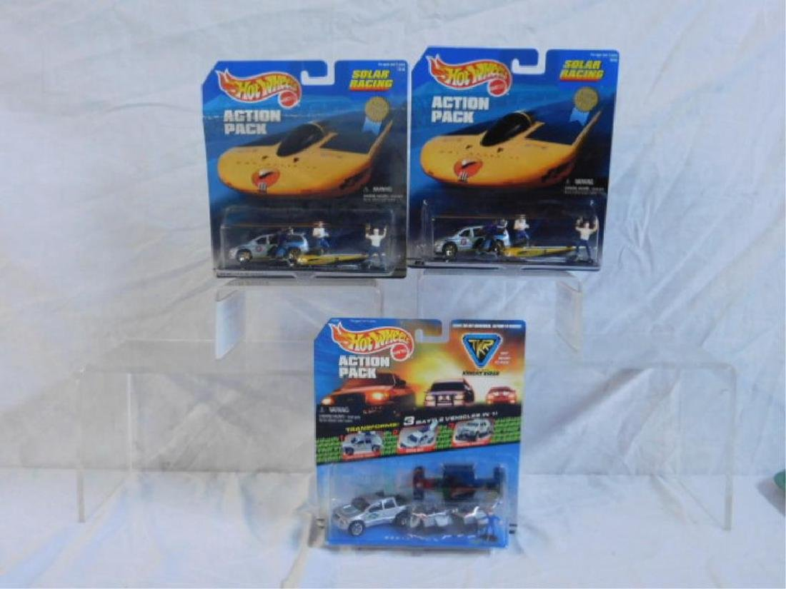 Hot Wheels Action Pack Sets - 3