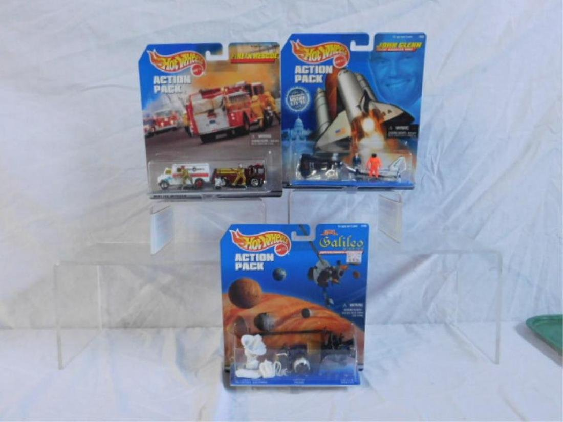 Hot Wheels Action Pack Sets - 4