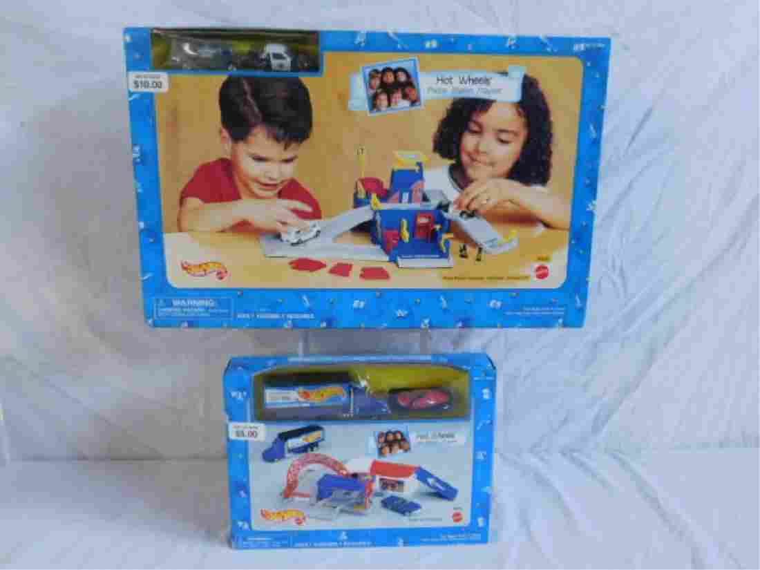1995 Hot Wheels Playsets