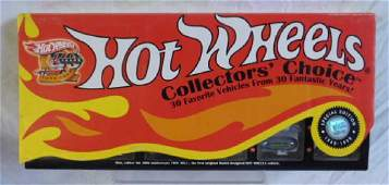 Hot Wheels Collectors Choice Car Set