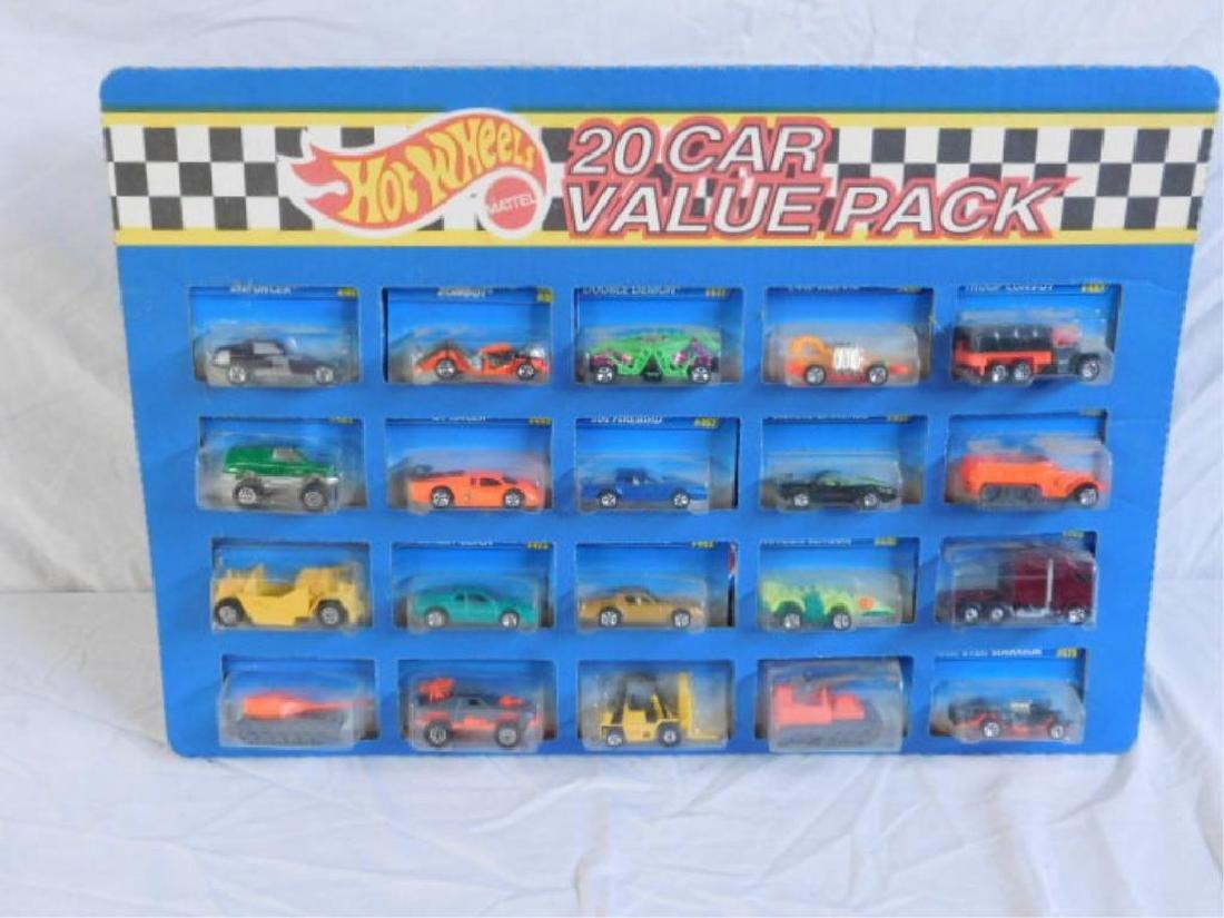 Hot Wheels 20 Car Value Pack