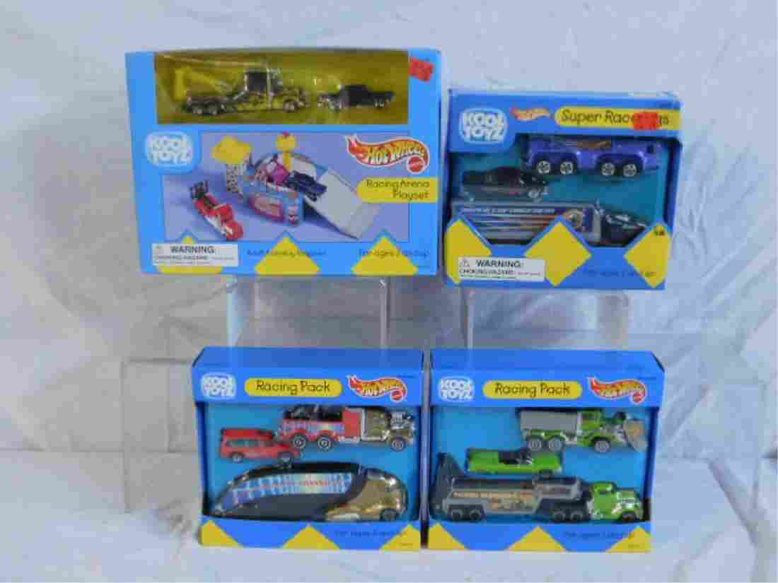 Hot Wheels Kool Toyz Playset & Vehicles