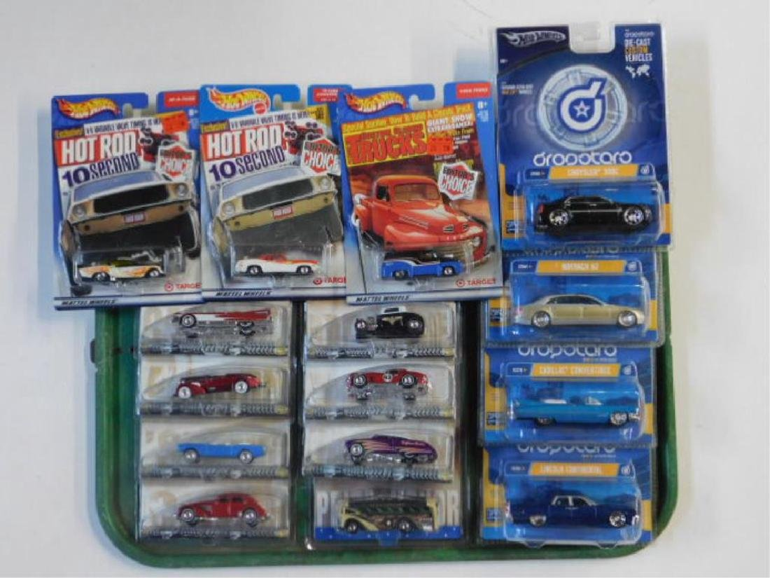 Blister Packed Hot Wheels Vehicles