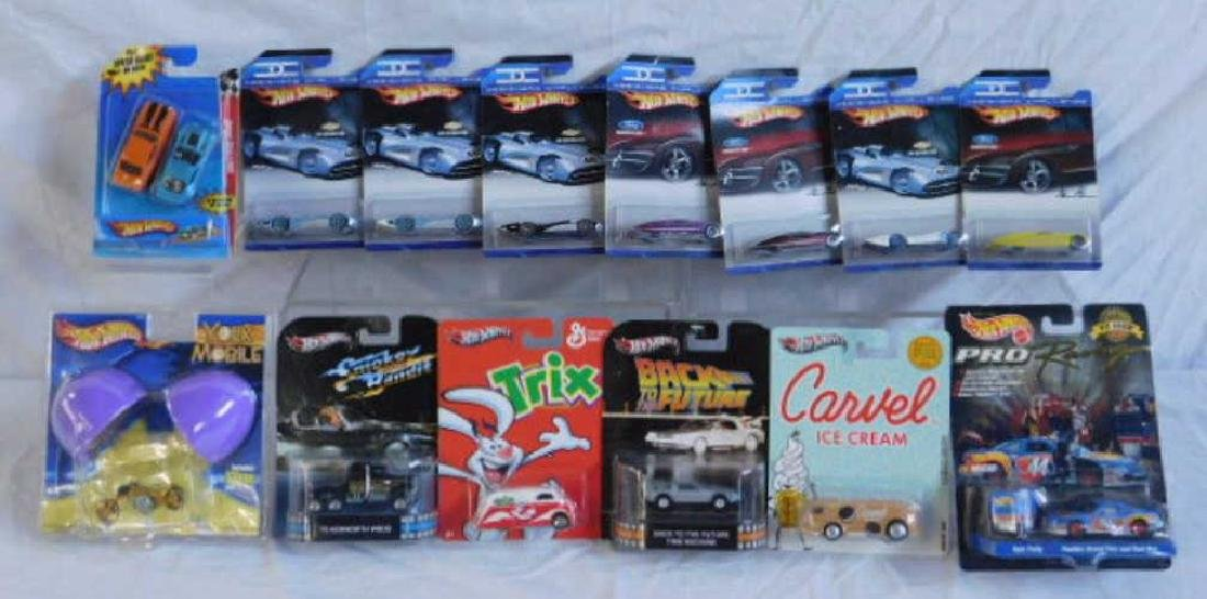 Assorted Hot Wheels Cars & Vehicles