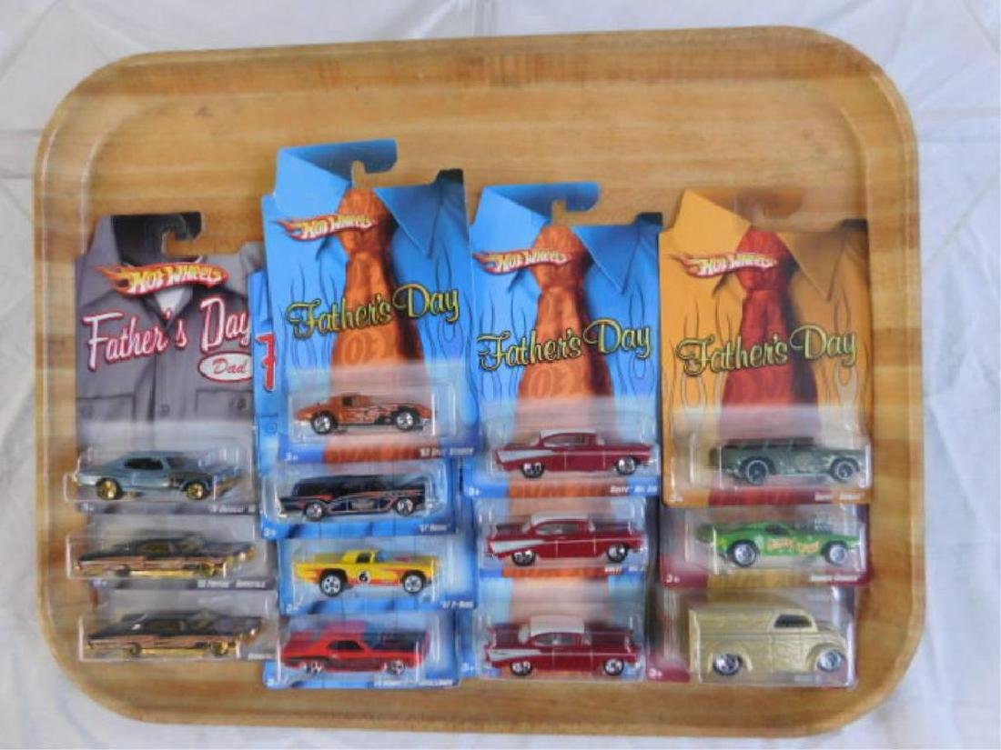 Hot Wheels Father's Day Series Vehicles
