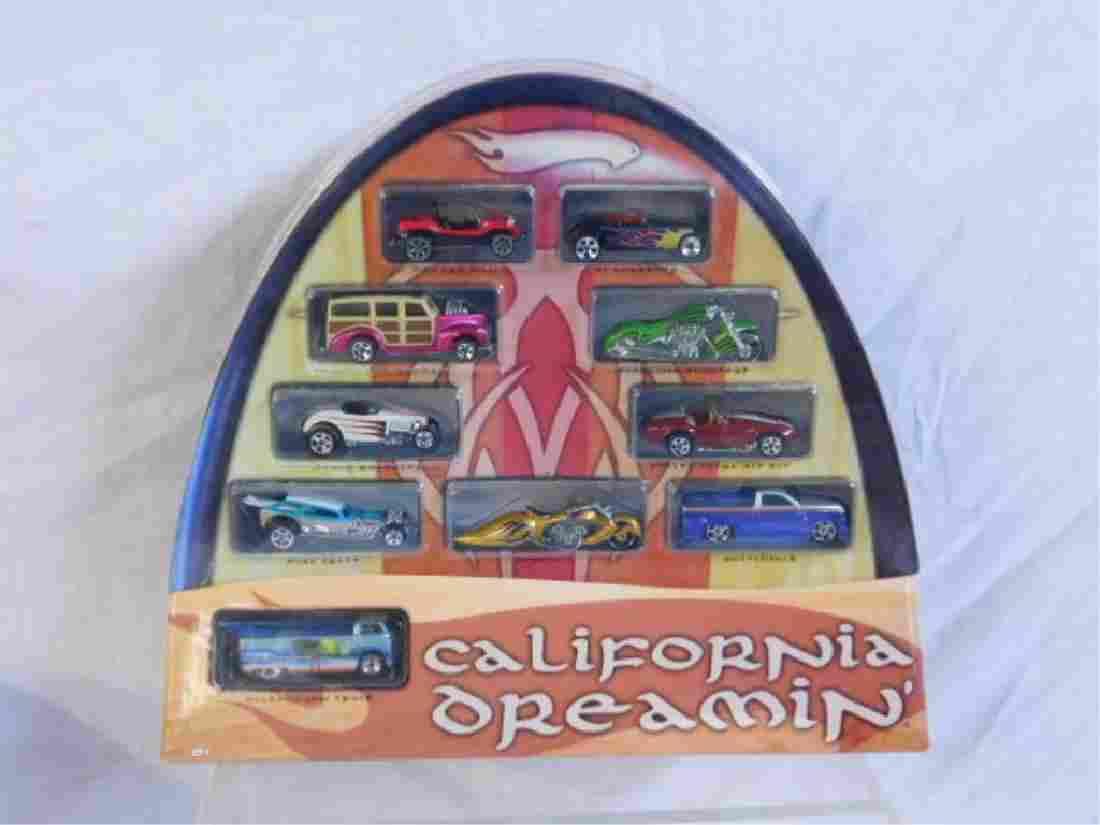 Hot Wheels California Dreamin' Set