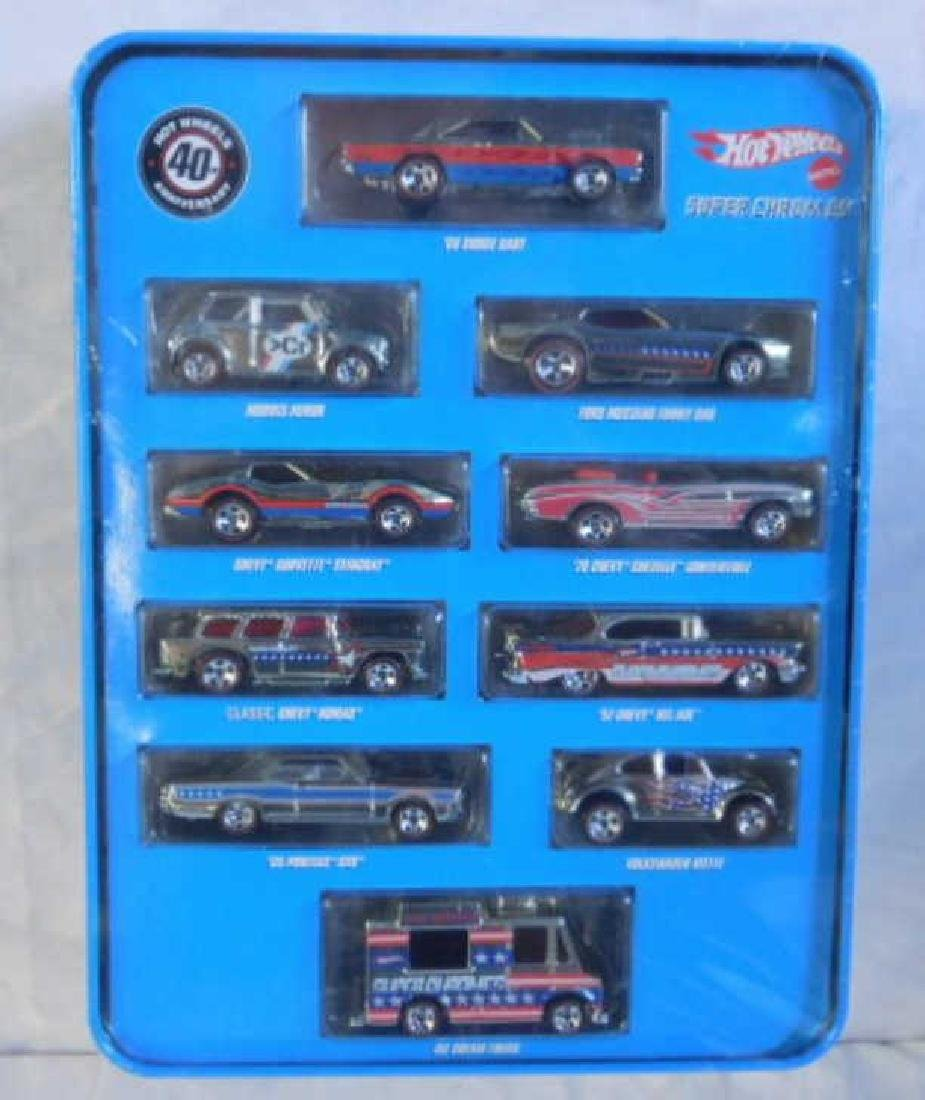 Hot Wheels Super Chromes Set
