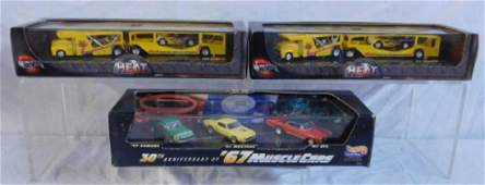 3 Hot Wheels Car & Vehicle Sets
