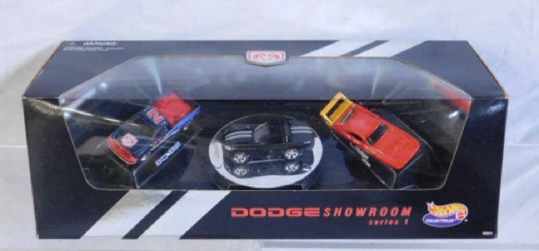 Hot Wheels Dodge Showroom Car Set
