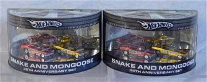 Hot Wheels Snake and Mongoose Sets
