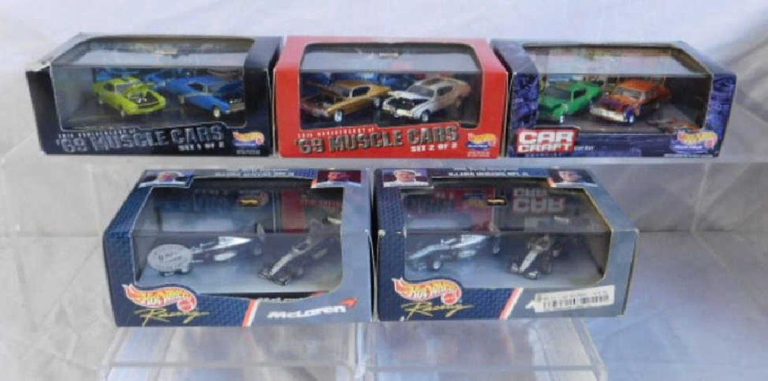 Hot Wheels 2 Car Sets