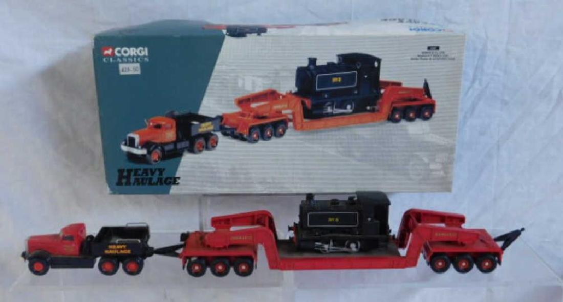 Corgi Truck w/Trailer & Load