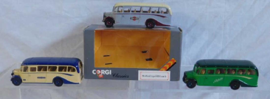 Corgi Bedford Type Coach Buses