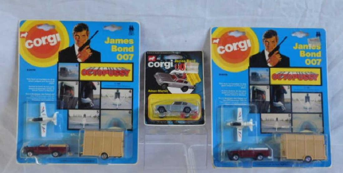 Corgi James Bond 007 Vehicles