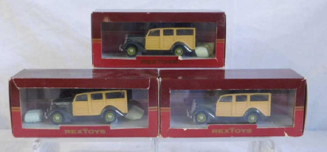 Rextoys Ford 1935 Station Wagons