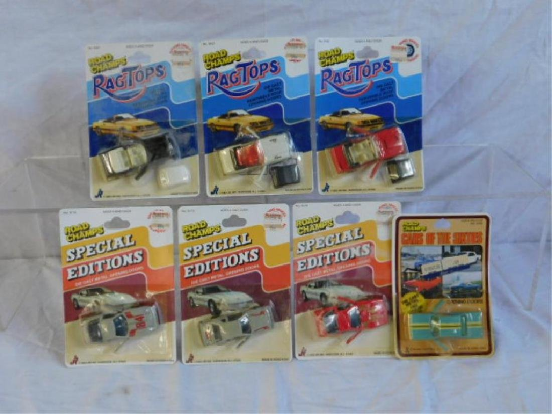 Assorted 1980's Road Champs Cars