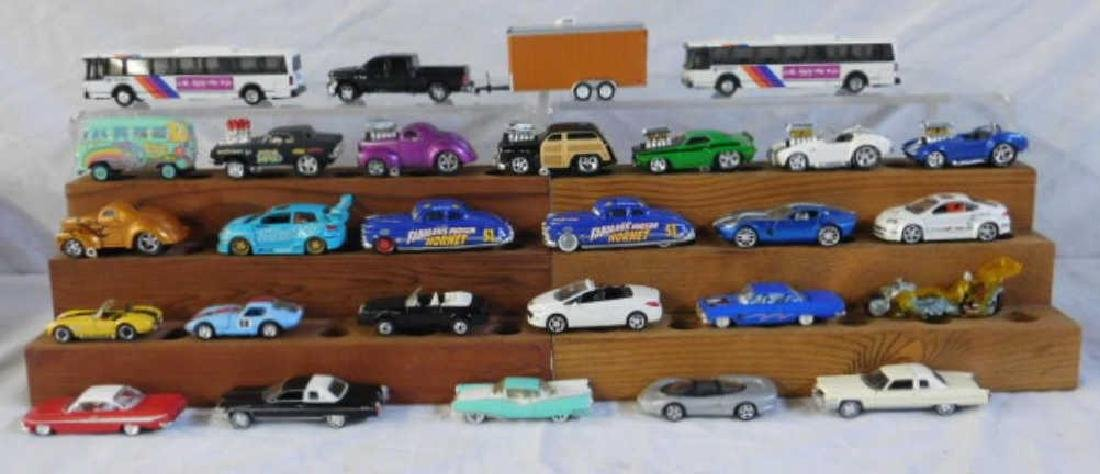 Assorted Die-Cast Cars & Vehicles