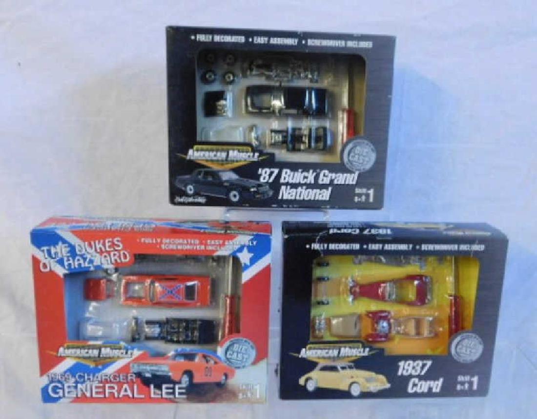 Ertl American Muscle Car Model Kits