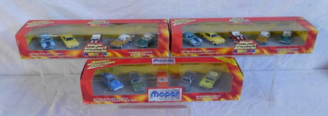 Johnny Lightning 5 Car Box Sets
