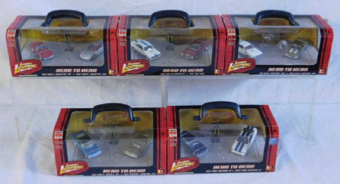 Johnny Lightning Head to Head Car Sets