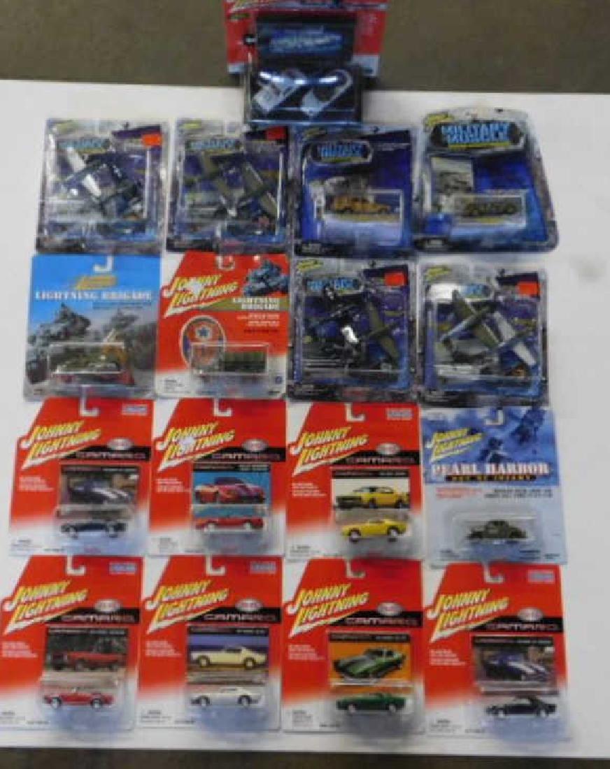 Assorted Johnny Lightning Cars